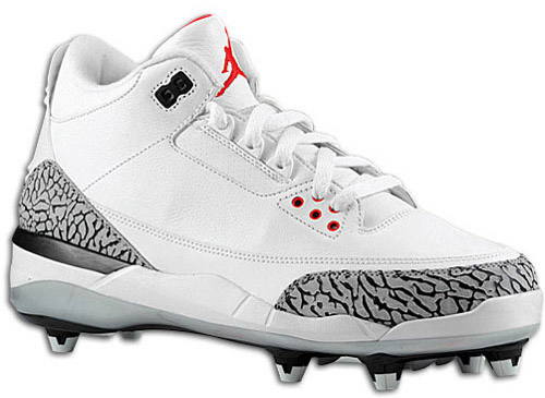 air-jordan-3-d-football-cleats-3.jpg (500�365) | My Likes | Pinterest |  Football gear